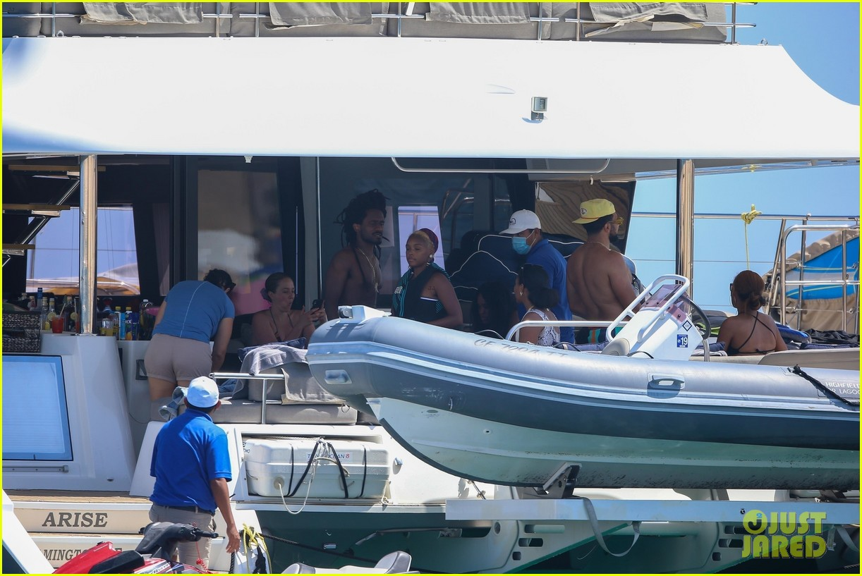 janelle monae nate wonder on a yacht 044540625