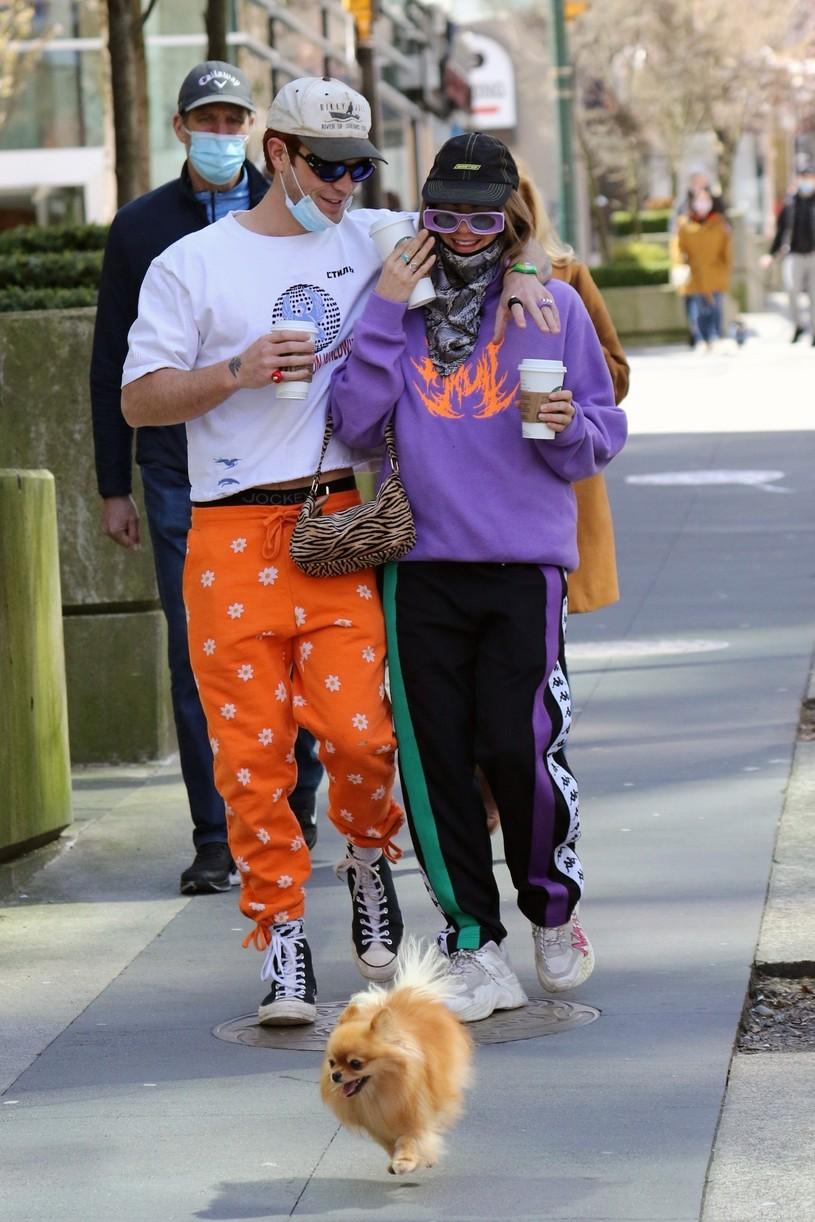 kj apa clara berry coffee walk dog vancouver 084541119