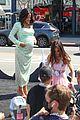 pregnant christina milian opening beignet box cafe matt pokora 41