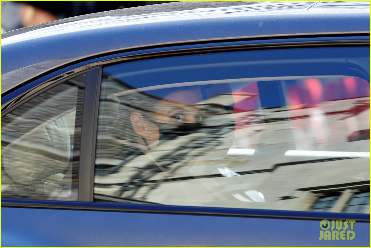 princess beatrice and eugenie arrive funeral 024543539