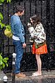 lily collins caught in rain with lucas bravo emily in paris 40
