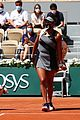 naomi osaka fined warned after first match french open 05