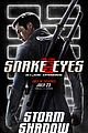 snake eyes character posters 09.