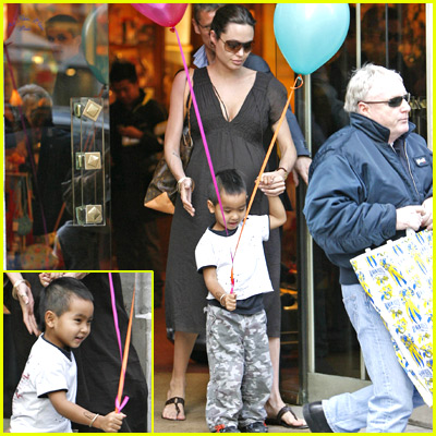 Angelina Jolie's Sandals