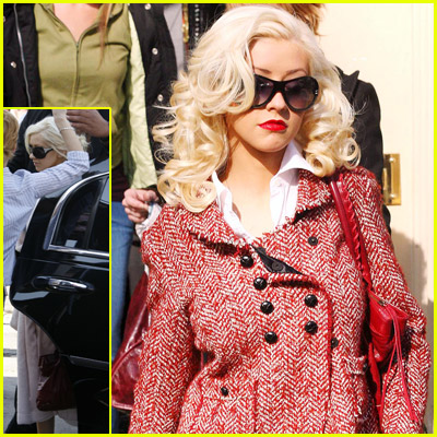 Christina Aguilera Sunglasses