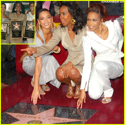 Destiny's Child Nab Star