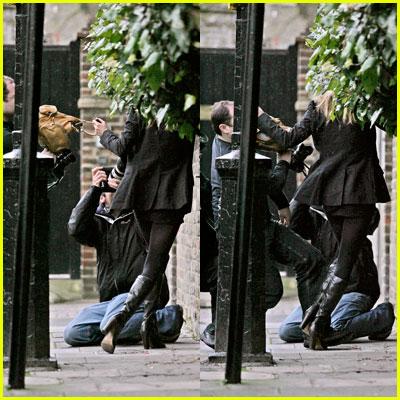 Kate Moss Paparazzi Attack