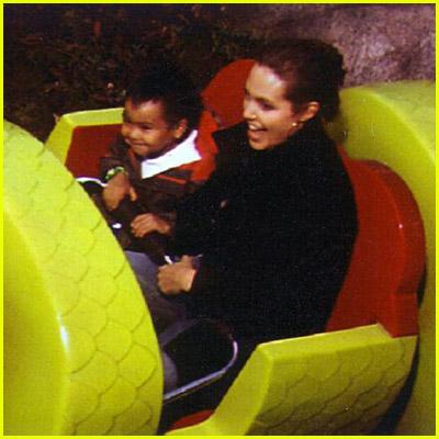 Angelina and Maddox At Legoland