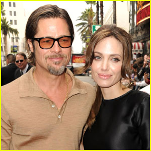 Brad and Angelina Hello Magazine