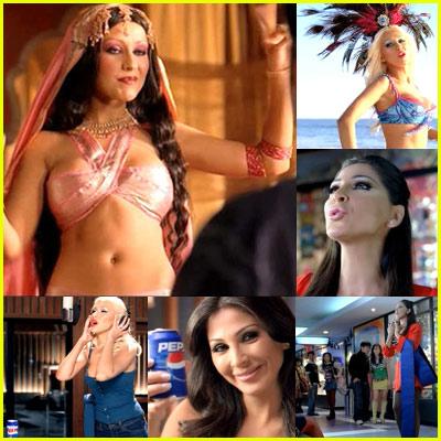 Christina Aguilera's Pepsi Commercial