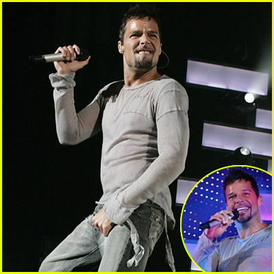Ricky Martin Concert Pictures