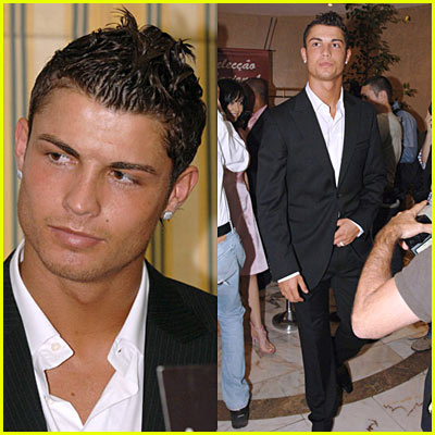 Cristiano Ronaldo & Merche Romero