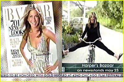 Jennifer Aniston in Harper's Bazaar