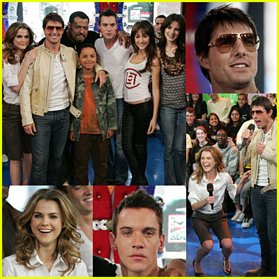 Mission Impossible 3 Cast on TRL