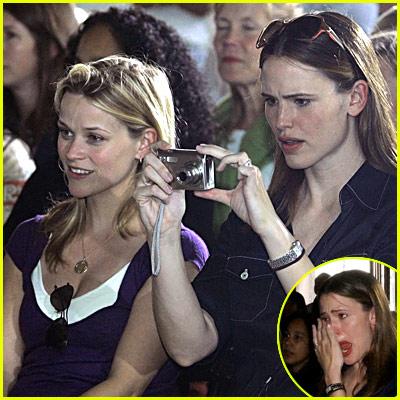 Reese Witherspoon & Jennifer Garner Visit New Orleans