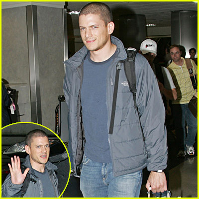 Wentworth Miller: Airport