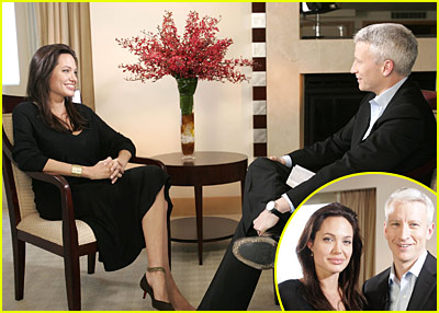 Angelina Jolie on Anderson Cooper 360