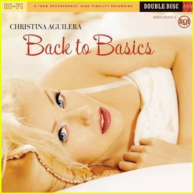 Christina Aguilera Back To Basics Album Cover