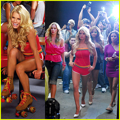 Jessica Simpson: A Public Affair Music Video