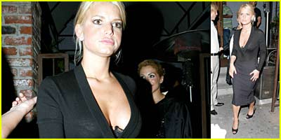 Jessica Simpson Fights Sean Diddy Combs