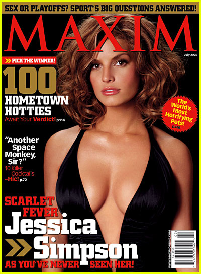 Jessica Simpson: Maxim July 2006