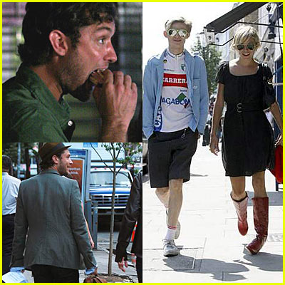 Jude Law & Sienna Miller Lunch at Grotta Azzura