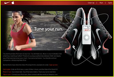 Nike + Apple = Slice of Heaven