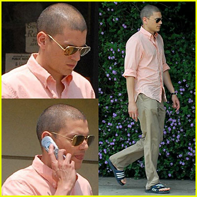 Wentworth Miller in Sunglasses