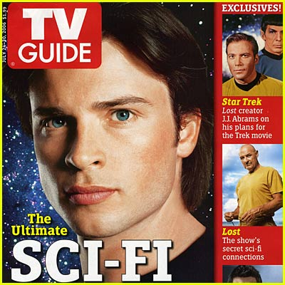 Tom Welling: TV Guide Cover