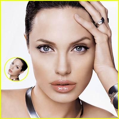Angelina Jolie: Shiseido Ads