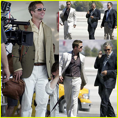 Brad, George &amp; Matt: Ocean&apos;s 13 Set