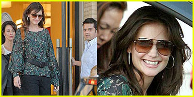 Katie Holmes Shops Barneys