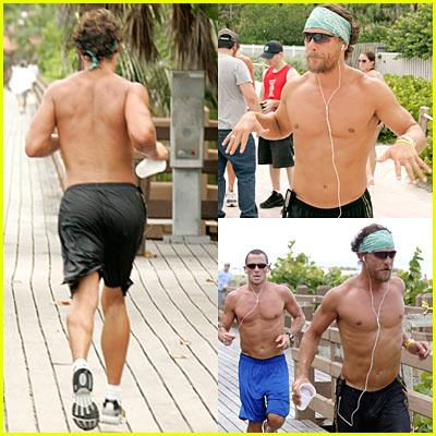 Matthew McConaughey Marathon