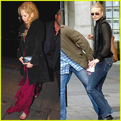 Nicole Kidman & Daniel Craig Dinner