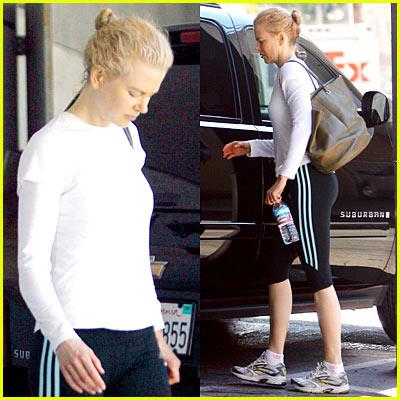 Nicole Kidman: Pilates Princess