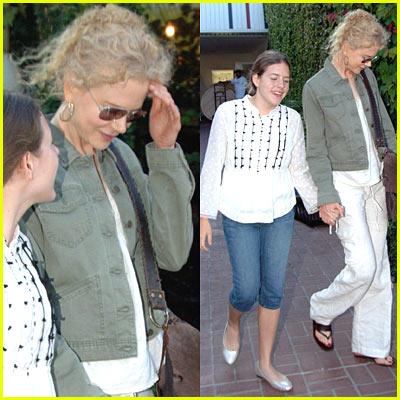 Nicole Kidman & Daughter Isabella