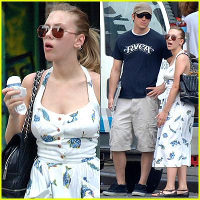 Scarlett Johansson & Josh Harnett