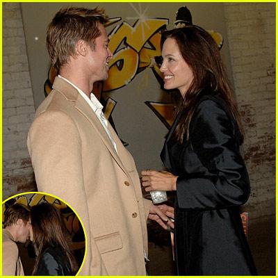 Brad & Angelina: More Banksy Love