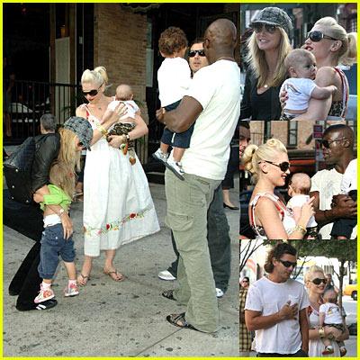 Gwen Stefani Meets Heidi Klum