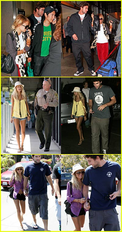 Nicole Richie & Brody Jenner Holding Hands