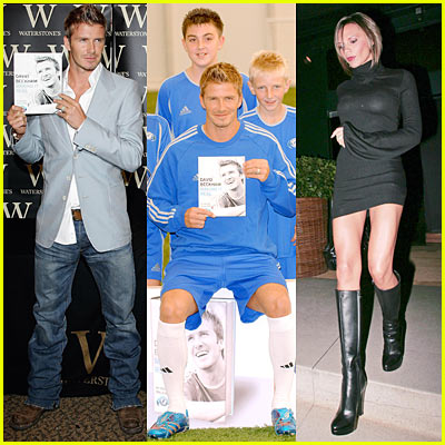 Becks Launches Soccer Book