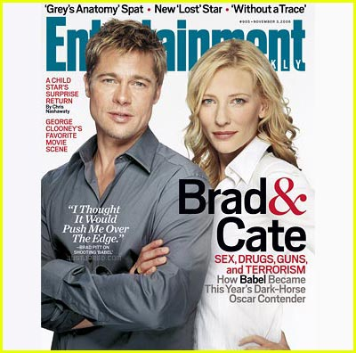 Brad & Cate Take 'Entertainment Weekly'