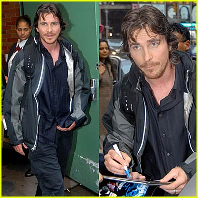 Christian Bale @ Good Morning America