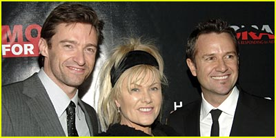 Hugh Jackman Milks It