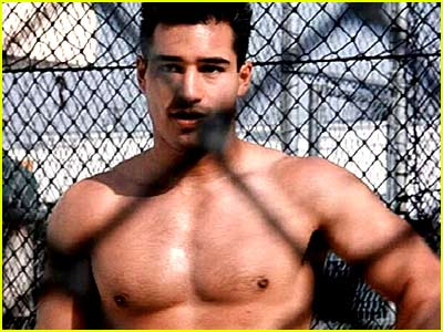 OMGBlog has Mario Lopez playing baseball with his pants down low and his ...