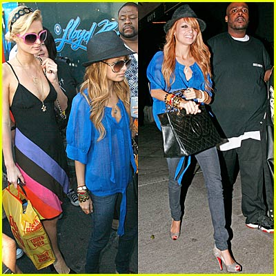 Paris & Nicole Hit the Town