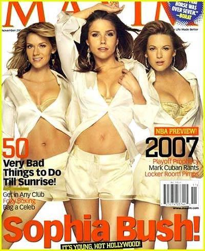 Sophia Bush: Maxim Magazine