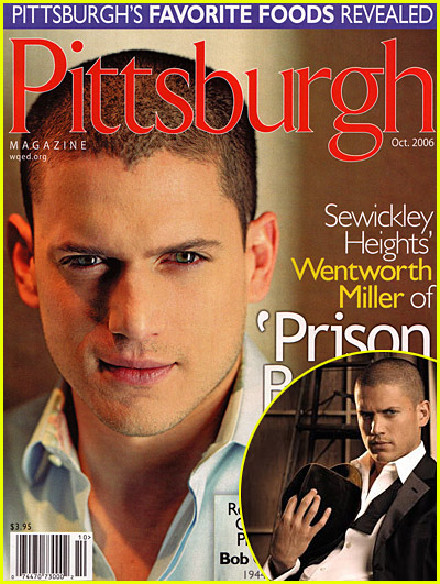 Wentworth Miller's Pittsburgh Love