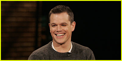 Matt Damon Is Very Outspoken