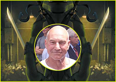 Cowabunga, Patrick Stewart!!